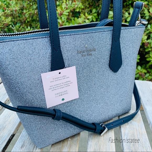 kate spade Handbags - Kate spade Small Joeley Satchel glitter BRAND NEW